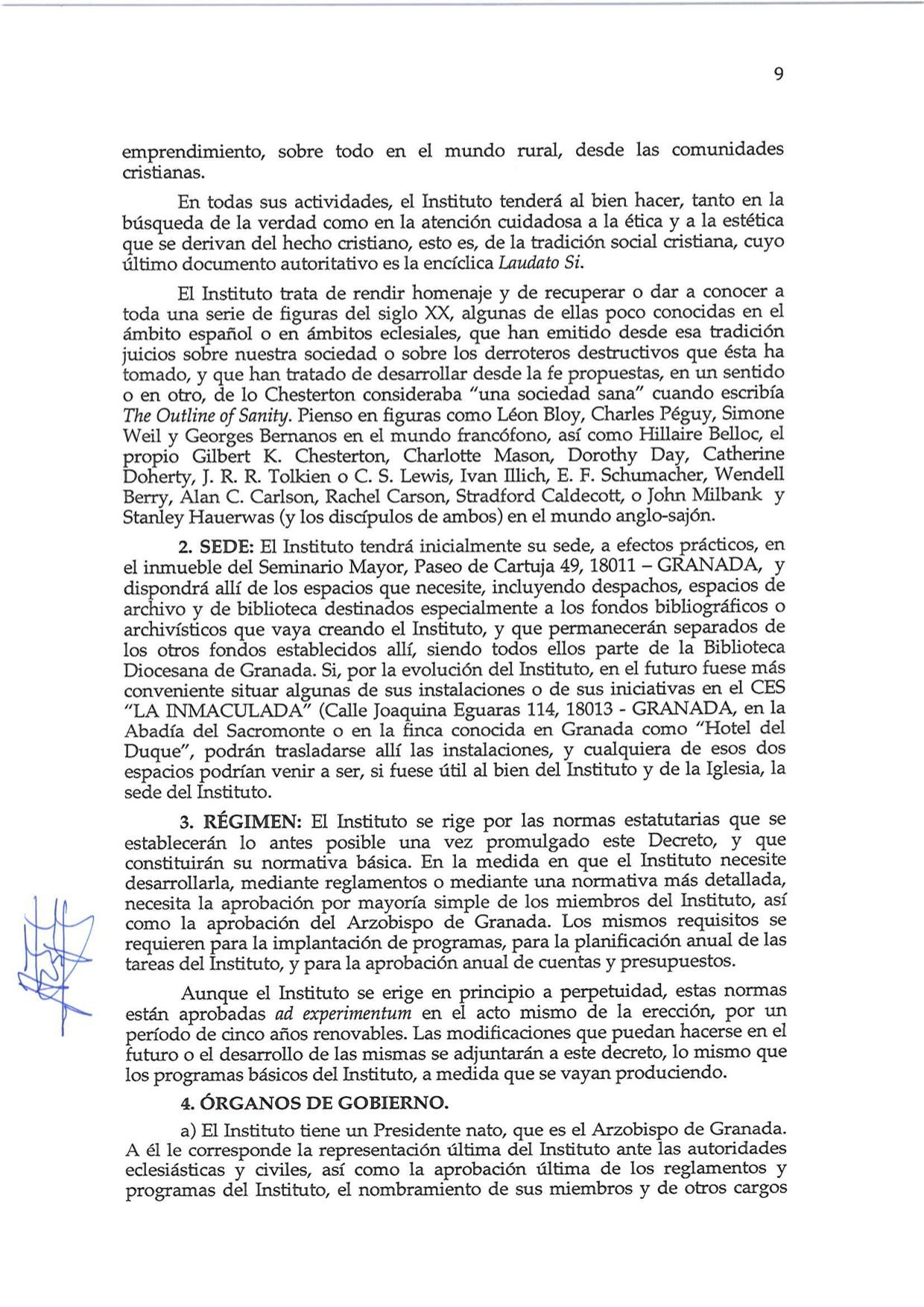 Decreto de Erección _Laudato Si_09