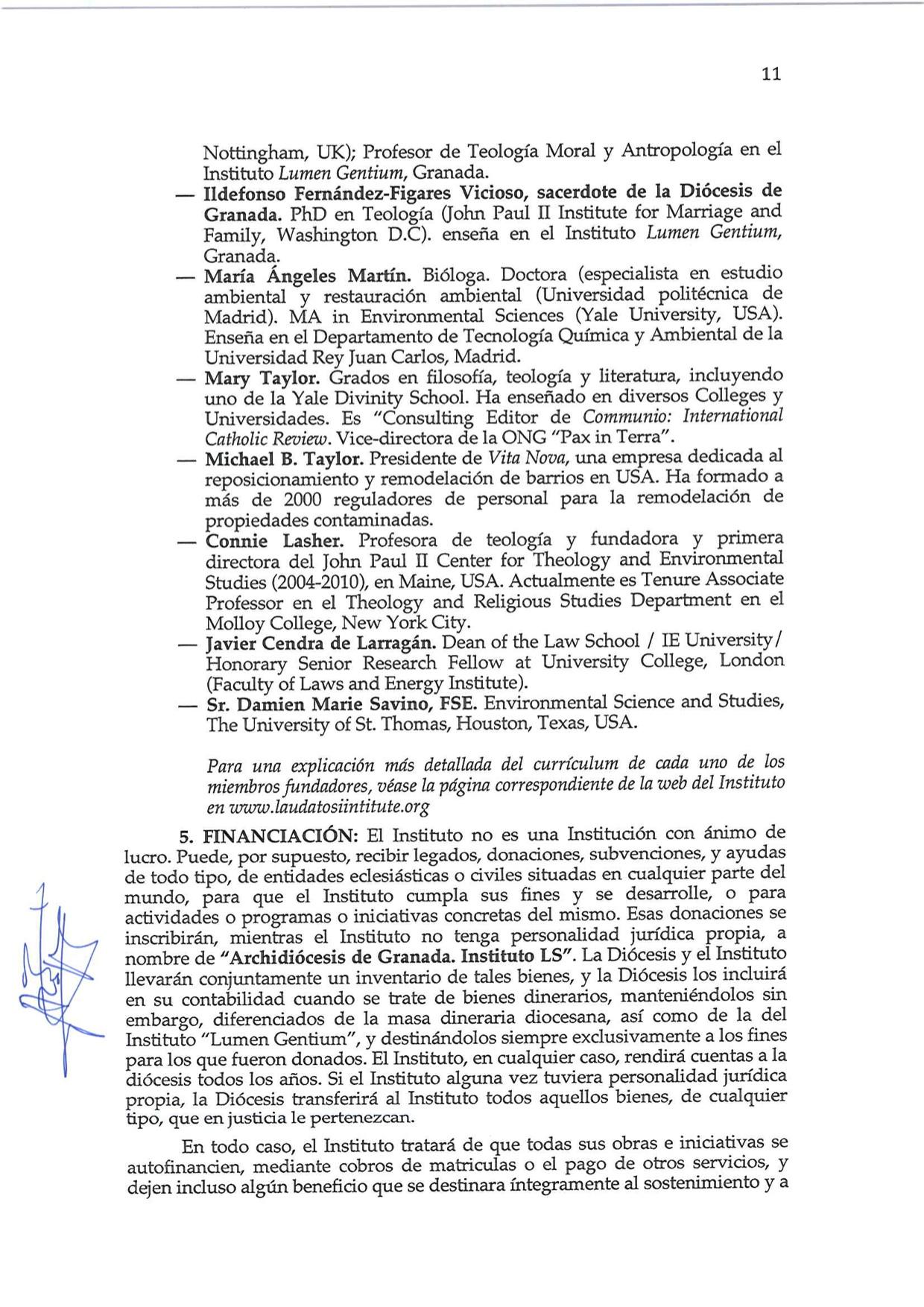 Decreto de Erección _Laudato Si_11